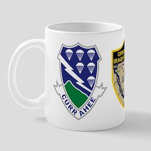 2nd Infantry Division Iraqi Freedom Mug