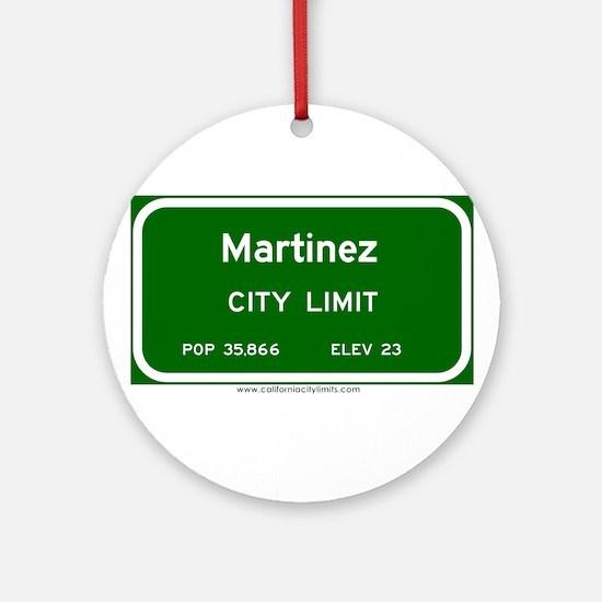 Martinez Ornament (Round)