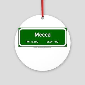Mecca Ornament (Round)