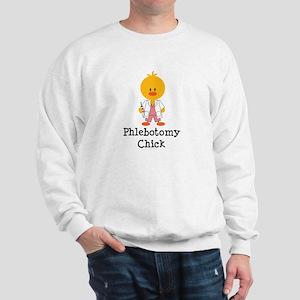 Phlebotomy Chick Sweatshirt