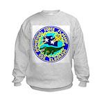 USS Eldorado (AGC 11) Kids Sweatshirt