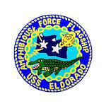 "USS Eldorado (AGC 11) 3.5"" Button (100 pack)"
