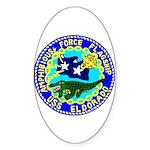 USS Eldorado (AGC 11) Oval Sticker (50 pk)