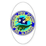 USS Eldorado (AGC 11) Oval Sticker (10 pk)