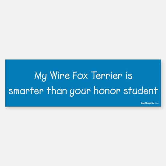 Wire Fox Terrier / Honor Student