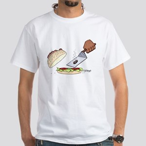 Where's The Beef? White T-Shirt