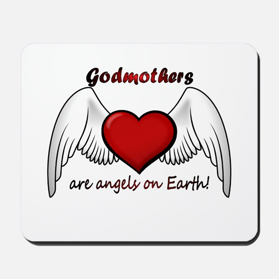 Angel Godmother Mousepad