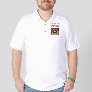 potato pancakes Golf Shirt