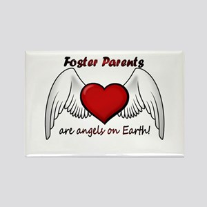 Angel Foster Rectangle Magnet