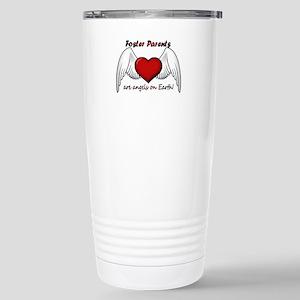 Angel Foster Stainless Steel Travel Mug
