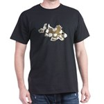 NEW Black Harlequin Sweetlips Fish T-Shirt