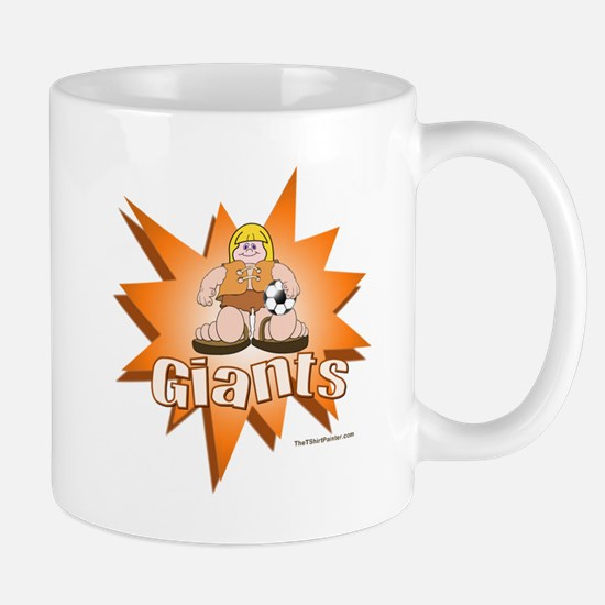 Giants Soccer Mug