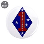 """1st Marine Division 3.5"""" Button (10 pack)"""