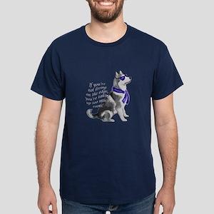 Alaskan Malamute edge Dark T-Shirt