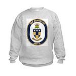 USS Coronado (AGF 11) Kids Sweatshirt