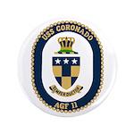 "USS Coronado (AGF 11) 3.5"" Button (100 pack)"