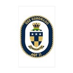 USS Coronado (AGF 11) Rectangle Sticker 50 pk)