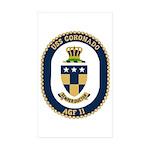 USS Coronado (AGF 11) Rectangle Sticker 10 pk)