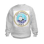 USS Lookout (AGR 2) Kids Sweatshirt