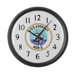 USS Lookout (AGR 2) Large Wall Clock