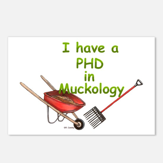 PHD Muckology Postcards (Package of 8)