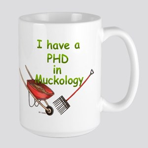 PHD Muckology Large Mug