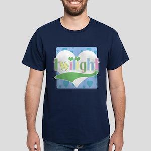 Twilight Hearts Dark T-Shirt