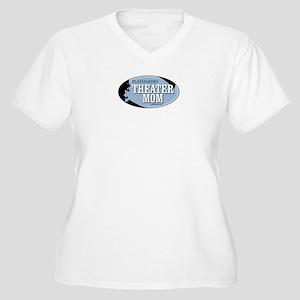 Theater Mom Women's Plus Size V-Neck T-Shirt