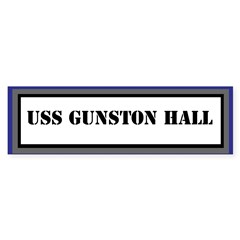 USS Gunston Hall Sticker (Bumper)