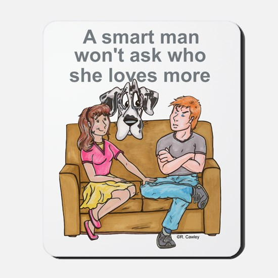 NH Smart Man Mousepad