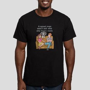 NH Smart Man Men's Fitted T-Shirt (dark)