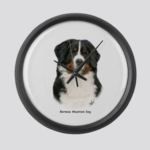 Bernese Mountain Dog 9Y348D-094 Large Wall Clock