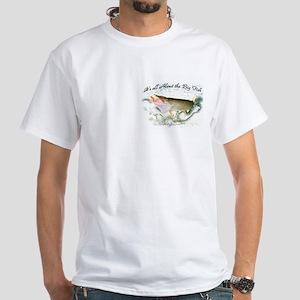 Tiger musky, White T-Shirt