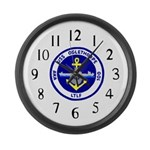 USS Oglethorpe (AKA 100) Large Wall Clock