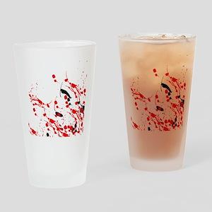 Drip & Splash Drinking Glass