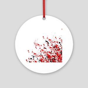 Drip & Splash Round Ornament