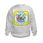 USS Mispillion (AO 105) Kids Sweatshirt