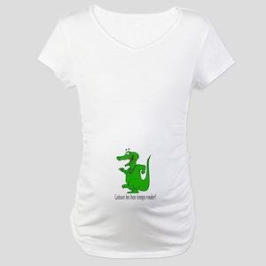 Good Times Roll Maternity T-Shirt