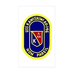 USS Kawishiwi (AO 146) Rectangle Sticker 10 pk)