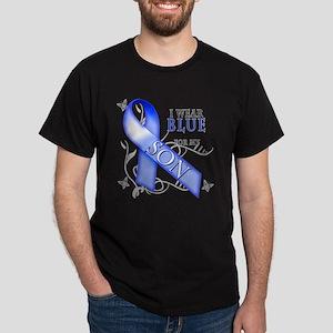 I Wear Blue for my Son Dark T-Shirt