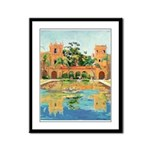 san Diego Reflections Framed Panel Print