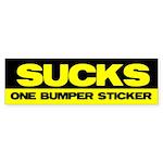 Obama Sucks Part 2 Bumper Sticker