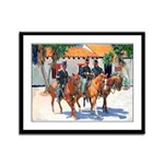 Soldiers by Riccoboni Framed Print