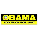 Obama Sucks Part 1 Bumper Sticker (50 pk)
