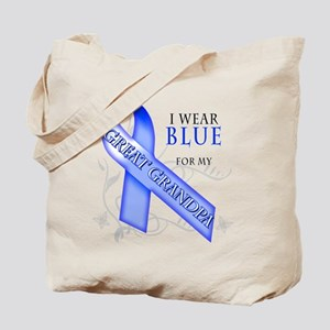 I Wear Blue for my Great Grandpa Tote Bag