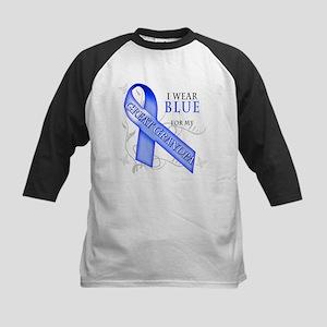 I Wear Blue for my Great Grandpa Kids Baseball Jer