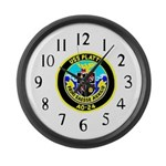 USS Platte (AO 24) Large Wall Clock