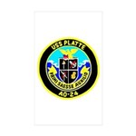USS Platte (AO 24) Rectangle Sticker 10 pk)