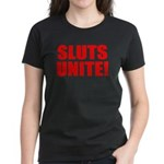 Sluts Unite Women's Dark T-Shirt