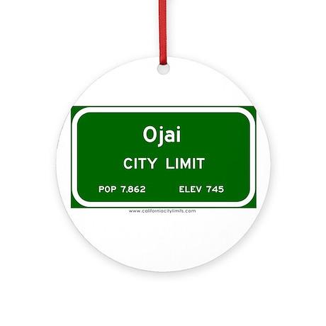 Ojai Ornament (Round)